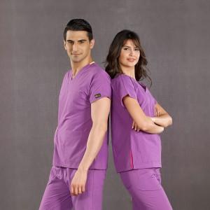 Dr. Greys Modeli Mor Hemşire Forması