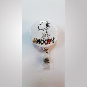 Snoopy Tasarımlı Yaka Kartı Tutucu