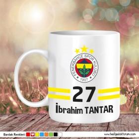 Fenerbahçe Tasarımlı Baskılı Kupa Bardak