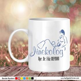 Jinekolog 1 Tasarımlı Kupa Bardak