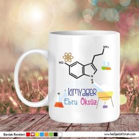 Kimyager Tasarımlı Kupa Bardak