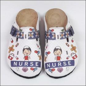Nurse Tasarımlı Ortopedik Hemşire Terliği