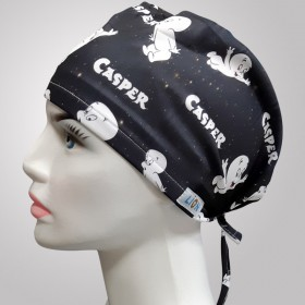 Casper Patterned Surgical Scrub Caps