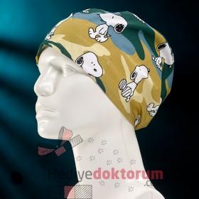 Snoopy Desenli Cerrahi Bone
