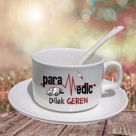 Paramedik Tasarımlı Hediye Porselen Fincan