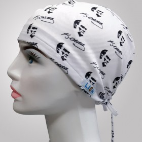 Atatürk Patterned Surgical Scrub Caps